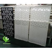 Wholesale CNC aluminum carved decorative panel with various patterns laser cutting screen panel from china suppliers