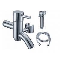 Wholesale Two Ways Bib Cock With Arab Brass Shower And 1.2M Stainless Steel Hose from china suppliers