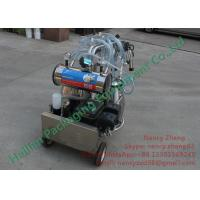 Wholesale Low Noise Gasoline Mobile Milking Machine Farm Milking Equipment from china suppliers