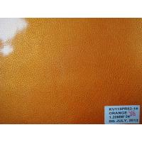 Buy cheap release paper shiny pu leather with woven backing for bags from wholesalers