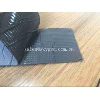 Wholesale Soft Aluminum Multi Functional Molded Rubber Products , Single Side Insulating Butyl Sealant Primary Seal Rubber from china suppliers