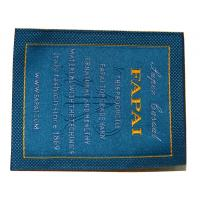 Wholesale Customized Clothing Woven Labels, Personalized Apparel Label With Velcro Tape Backing from china suppliers