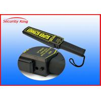 Wholesale Lightweight Portable Metal Detector Commercial , Police Rechargeable Metal Detector from china suppliers