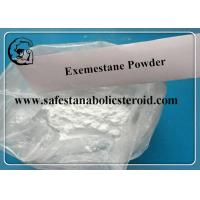 Quality Natural Exemestane Anti Estrogen Supplements Aromasin Powder CAS 107868-30-4 for sale