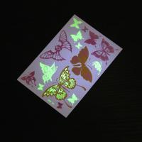 Wholesale Glow In The Dark Flash Body Temporary Tattoo Stickers Black And White Color from china suppliers