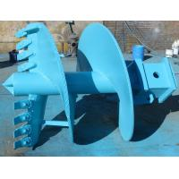 Quality Earth Drill Boring Tools Double Cut Straight Drilling Auger With Rock Drilling Bits for sale