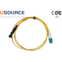 Wholesale MTRJ to LC Singlemode Duplex Fiber Optical Patchcord in Telecommunication Equipment from china suppliers