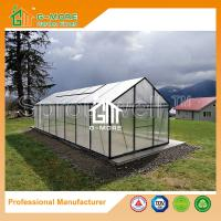 Wholesale 806x306x244cm Black Color Extendable Polycarbonate Garden Greenhouse from china suppliers