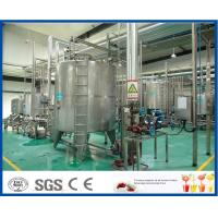 Wholesale ISO SUS 304 Complete Fruit Juice Processing Line with Plastic / Glass Bottle Filling Machine from china suppliers