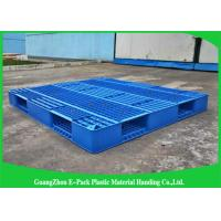 Wholesale Recyclable Single Mesh Deck Stackable Plastic Pallets 1200*1000mm from china suppliers