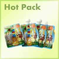 Wholesale Eco Friendly Reusable Stand Up Pouch With Spout High Temperature Resistant from china suppliers