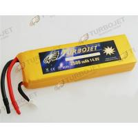 Wholesale Wholesale 14.8V 2500mAh 35C EC LiPo Li-Polymer Rechargeable RC Battery from china suppliers