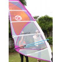 Wholesale Smart 4.5 Polyester Durable Wind Surf Sail Lightweight 5 Batten with Adjustable Darcon Head from china suppliers