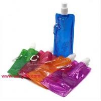 Wholesale Portable Folding Water Bottle Bladder New Gifts Outdoor Sport Portable Folding Water Bag from china suppliers
