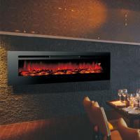 """Wholesale 40"""" long linear wall mounted fireplace built in fireplace real flame comfort smart space heater indoor room decoration from china suppliers"""