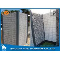 Wholesale Quick Building-Up Wire Cages For Stone Walls / Wire Mesh Gabions from china suppliers