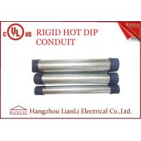 Wholesale RGD Galvanized Rigid Steel Conduit , 1/2 Inch 4 inch Electrical Conduit Tubing from china suppliers