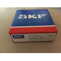 Wholesale 6204 Origin From France SKF 6204 Ball Bearing 6204 6204-2Z 6204-2RS1 from china suppliers