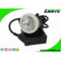 Buy cheap GL5-A Corded Cap Lamp 4000lux  IP67 with 22hours for Industrial and Emergency from wholesalers