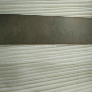 Wholesale super elastic NITI plate sheet 1.1mm thick ,Nickel-Titanium SMA Sheet ,Nitinol materials from china suppliers