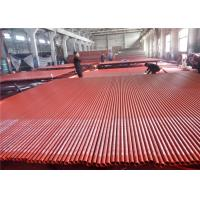 Quality ASTM A795 Grade A/ B Carbon Metal Steel Pipe with red paint and groove ends for sale