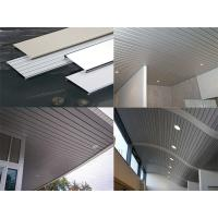 Wholesale Eco-Friendly Fireproof Suspended Metal Strip Ceiling Panel With 0.5-1.2mm Thickness from china suppliers
