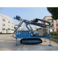Quality Anchor Drilling Rig Foundation Pile Drilling Machine For Jet Grouting / Water Well for sale