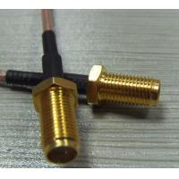 Wholesale High quality straight rf coaxial sma connectors with cable from china suppliers