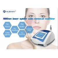 Quality Nubway most popular Professional treatment diode laser 980nm spider vein / blood vessels removal machine for sale