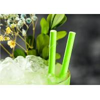 Wholesale Eco Friendly bamboo paper straws Birch Wood Design Green Decorative Paper Straws from china suppliers