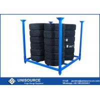 Wholesale Conventional Warehouse Tire Racks OEM With Plug In / Plug Out Post Pallet from china suppliers