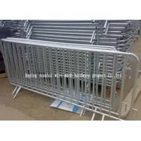 Wholesale Powder Coated Temporary Fencing Panels , Portable Steel Security Fencing from china suppliers