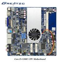 Wholesale Intel I5 - 5200U Dual Lan Motherboard With INTEL HD5500 GPU 2 SATA DC 12V - 19V Mainboard from china suppliers