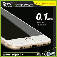 Wholesale Wholesale 0.1mm 180° Bent Tempered Glass Screen Protector for Mobile Phone from china suppliers