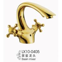 Wholesale Antique Dual Handle Brass Basin Faucet from china suppliers