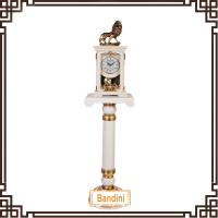 Buy cheap China antique standing clocks on floor / Standing polyresin clock for decoration 1358FS+88 from wholesalers