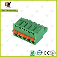 Wholesale 10A - 15A Pluggable Terminal Block Universal Connector Wire Range 28-12 AWG from china suppliers