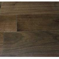 Wholesale American Walnut Wood Flooring, smooth surface with latte color stain from china suppliers