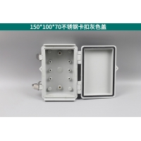Wholesale IP67 Stainless Steel Hinged Junction Box With Mounting Plate from china suppliers