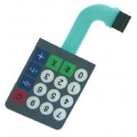 Wholesale PC / PET Gloss Metal Dome Membrane Switch Waterproof For Apparatuses from china suppliers