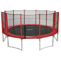 Wholesale 6ft/8ft/10ft/12ft/13ft/14ft/15ft/16FT Trampoline with outside Net&Long Pole from china suppliers