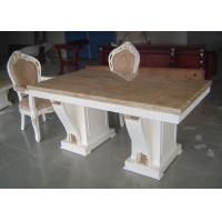 Wholesale White Wooden Dining Table And Chairs For Modern Dining Room Furniture Sets from china suppliers