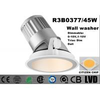 Wholesale High Brightness LED Wall Washer Lights 2700K White 186 * 210MM CITIZEN LED Downlight from china suppliers
