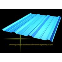 Wholesale Long Span Color Coated Metal Corrugated Roofing Sheets / PPGI Roof Steel Panels from china suppliers