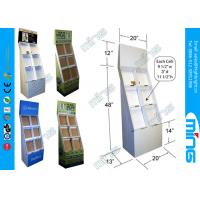 Wholesale Supermarket Floor Stand Cardboard Display Stands Units in CMYK Offset Printing from china suppliers