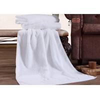 Wholesale Luxury White Hotel Collection Towels Egyptian Cotton Natural Anti Bacterial from china suppliers