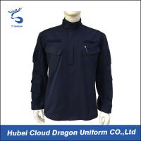 Wholesale TC Navy Military Tactical Jackets Long Sleeve With Logo Printing , Size Customized from china suppliers