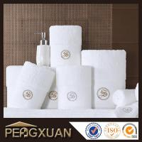 Wholesale Hotel white hand towels 21s/2 embroidery and jacquard towels for sale with 100% cotton PXFT1 from china suppliers