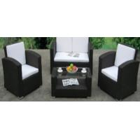Wholesale 4pcs steel rattan sofa set from china suppliers