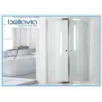 Wholesale Bright Handle 900 X 760 Shower Enclosure Quadrant , Bathroom Shower Glass Enclosures from china suppliers